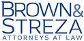 brown and streza logo