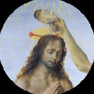 DAVINCI- BATTESIMO DI CHRISTO