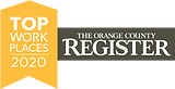 top place to work in orange county logo