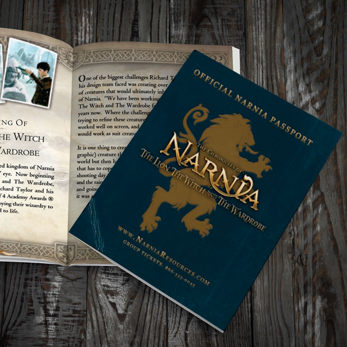Chronicles of Narnia Passport