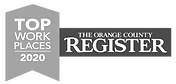 top place to work oc award 2020