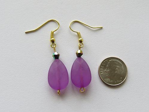 Oval earings