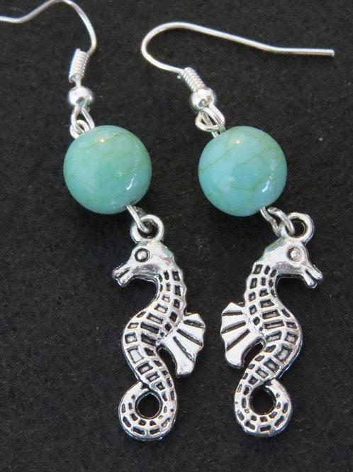 Bead & Charm earings