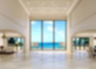 Fenex Corp USA oversized window in livin