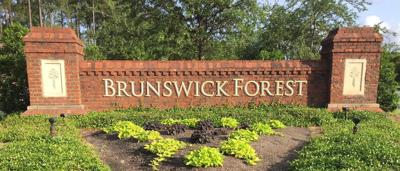 Brunswick Forest sign