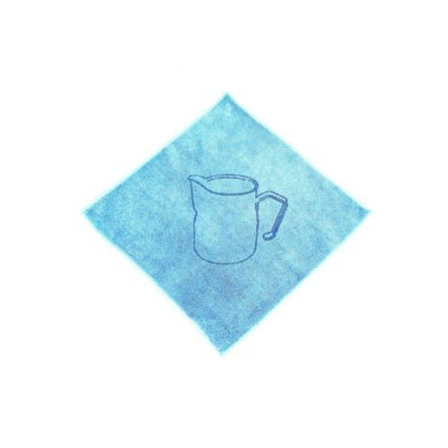 Barista cleaning cloth blue