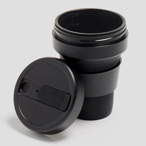 Stojo - reuseable cup 12 oz - black