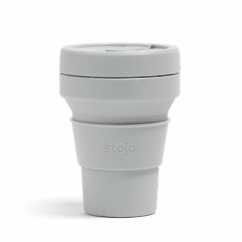 Stojo - reuseable cup 12 oz - white