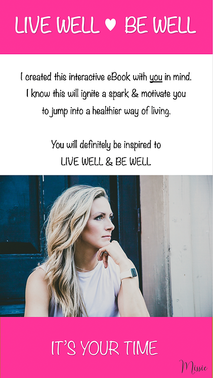 eBOOK - LIVE WELL|BE WELL