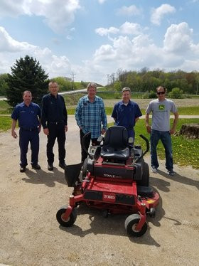 Lawn Mower Donation