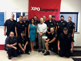 XPO DONATES TO SALUTE THE TROOPS