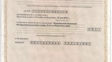 Свидетельство о государственной регистрации юридических лиц. ИНН/ОГРН