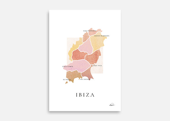 IBIZA - Affiche signée