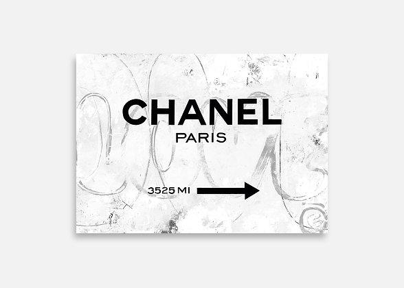 CHANEL PARIS - Tirage d'art