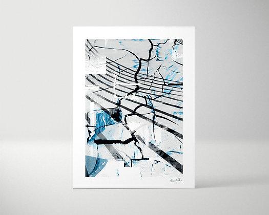 BLACK LINES - Tirage d'art