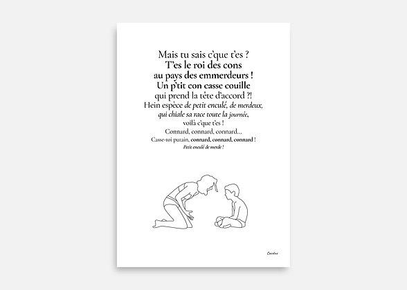 Nos jours heureux - Affiche minimaliste signée