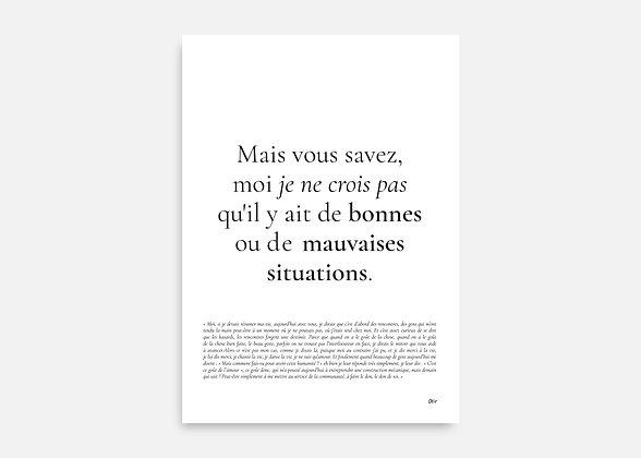 Astérix et Obélix : Mission Cléopatre - Affiche minimaliste signée