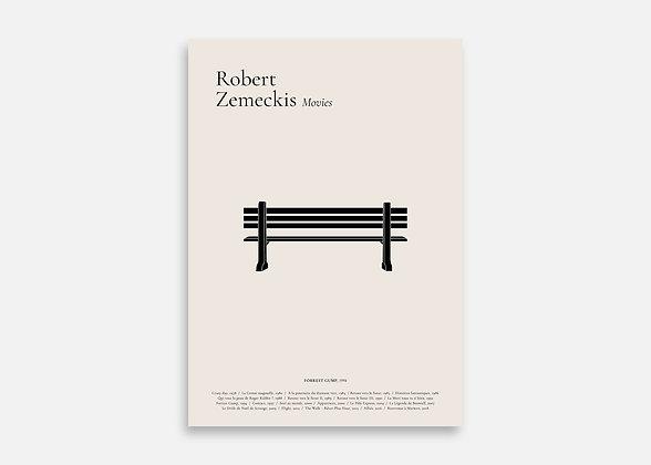 Forrest Gump - Affiche minimaliste signée