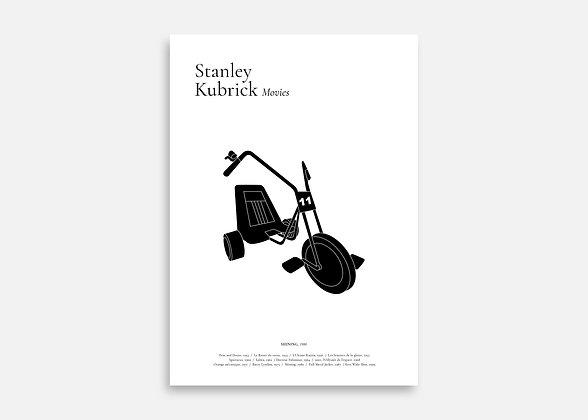 Shining - Affiche minimaliste signée