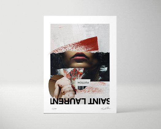 SAINT LAURENT - Tirage d'art - édition limitée 1/100
