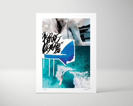 SURF - Tirage d'art -  Edition limitée 1/100