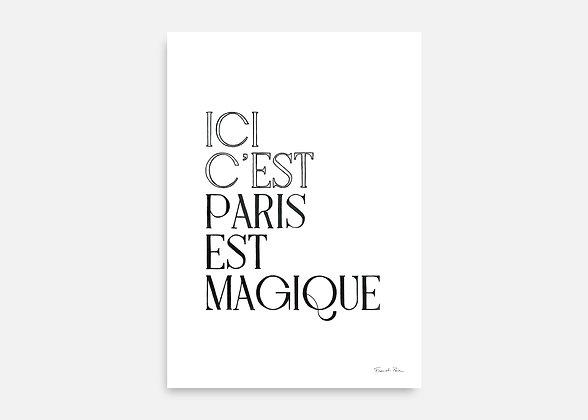 ICI C'EST PARIS - Affiche