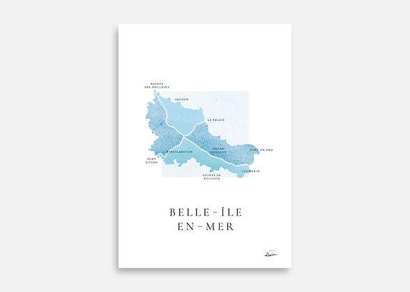 Belle-Île-En-Mer - Affiche signée