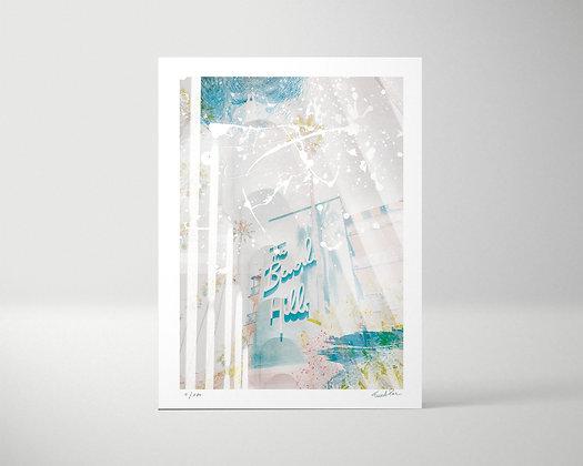 HILLS - Tirage d'art -  Edition limitée 1/100