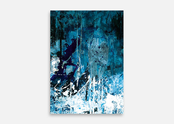 DEEP BLUE - Tirage d'art