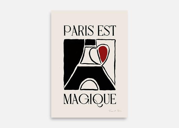 PARIS EST MAGIQUE - Affiche