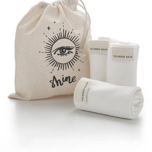 Bamboo Cleansing Cloth Trio
