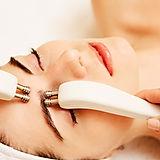 Cosmetology. Beautiful Woman At Spa Clin