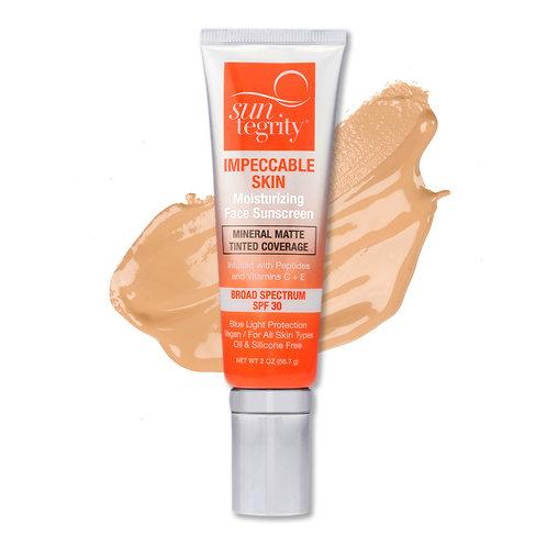 Suntegrity Impeccable Skin - Tan, Broad Spectrum SPF 30