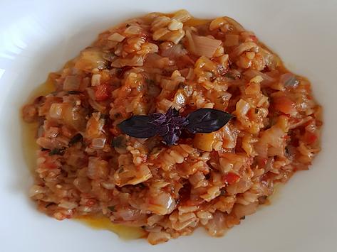 Antalya'nın meşhur zeytinyağlısı, atıksız mutfak örneği Patlıcan Cive