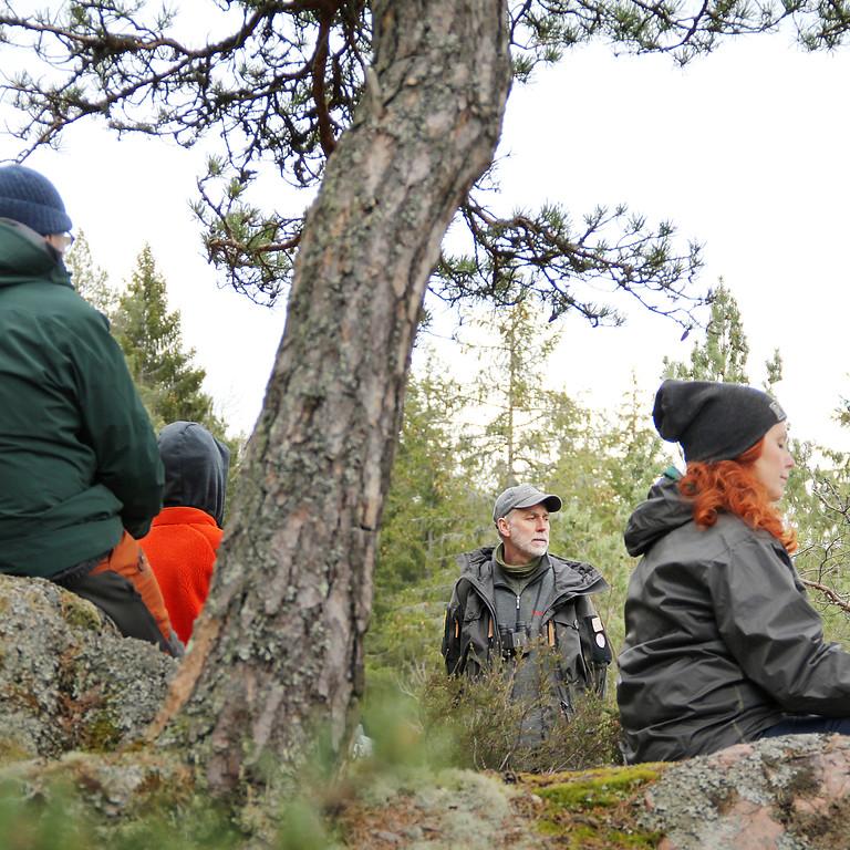 Skogsbad en hel dag på Nynäs slott