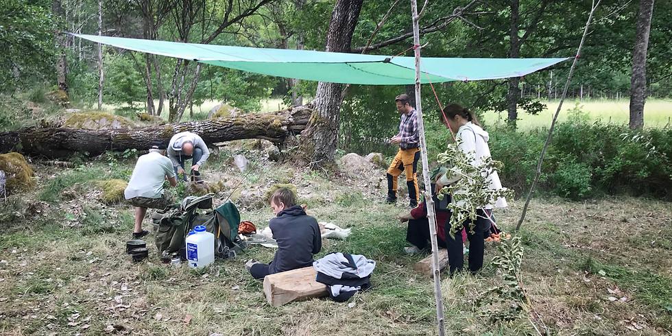 En ettårig kurs med bushcraft