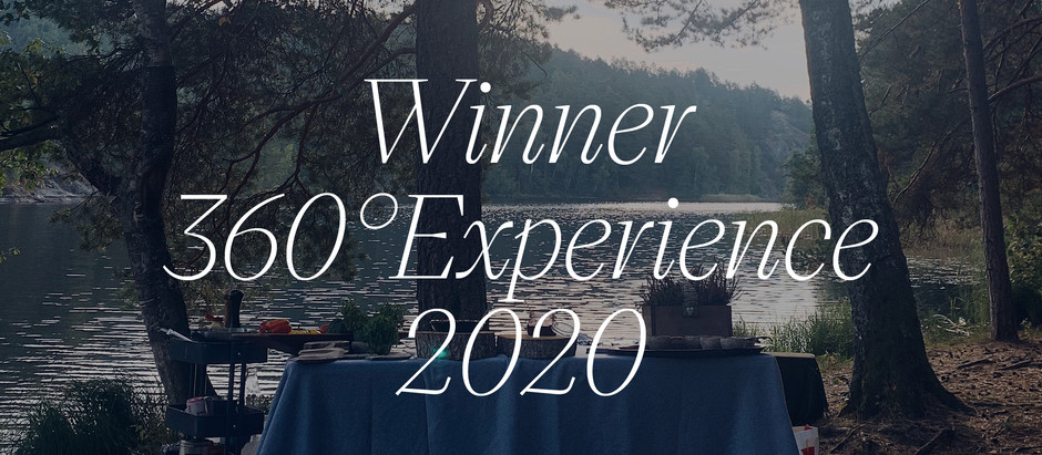 Vi vann! 360 Eat Guide, Experience 2020