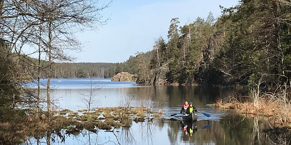 Öppen dag med paddling och bushcraft