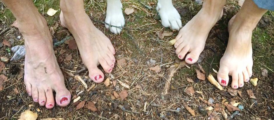 Bara fötter