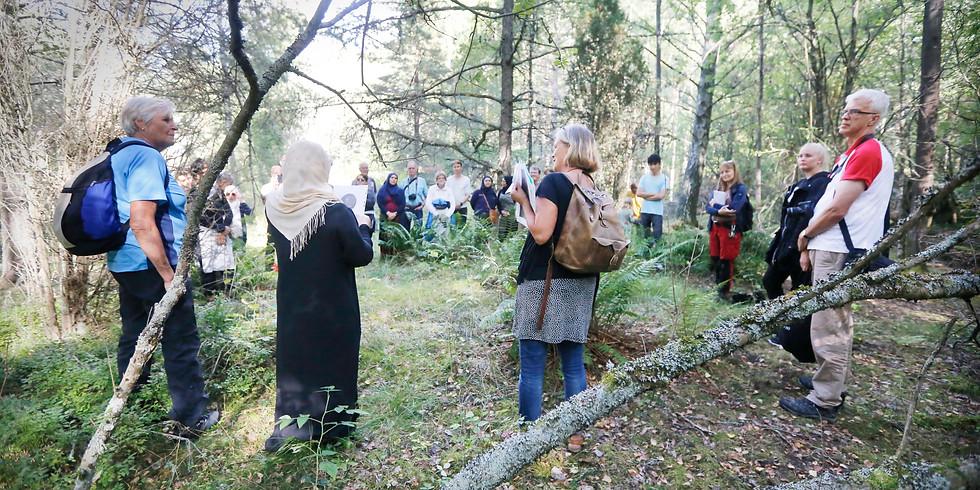 Forntidsvandring i Årby naturreservat