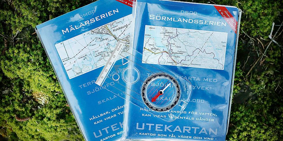 Få koll på karta och kompass