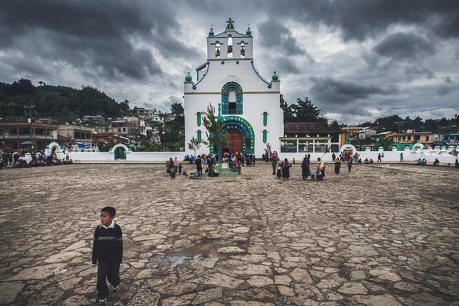 San Juan Chamula, Chiapas, México, 2013