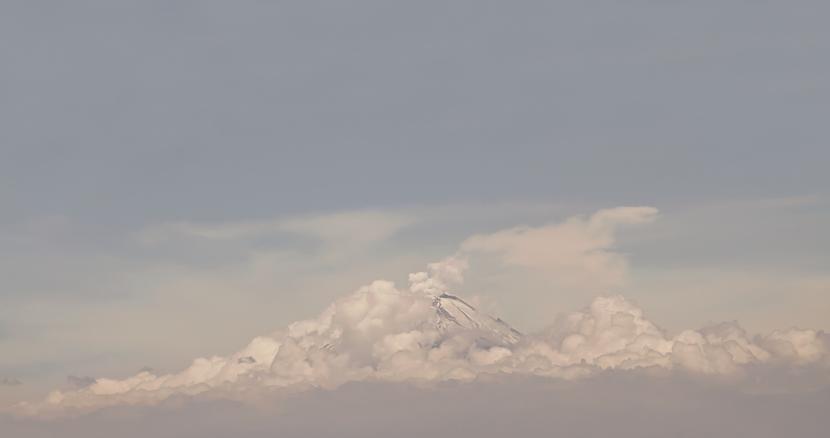 Volcán Popocatépetl, Puebla, México, 2013