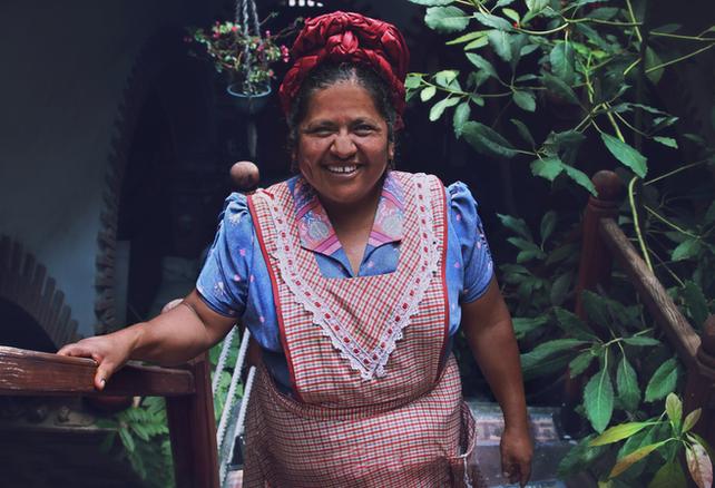 Abigail Mendoza, Oaxaca, México 2012