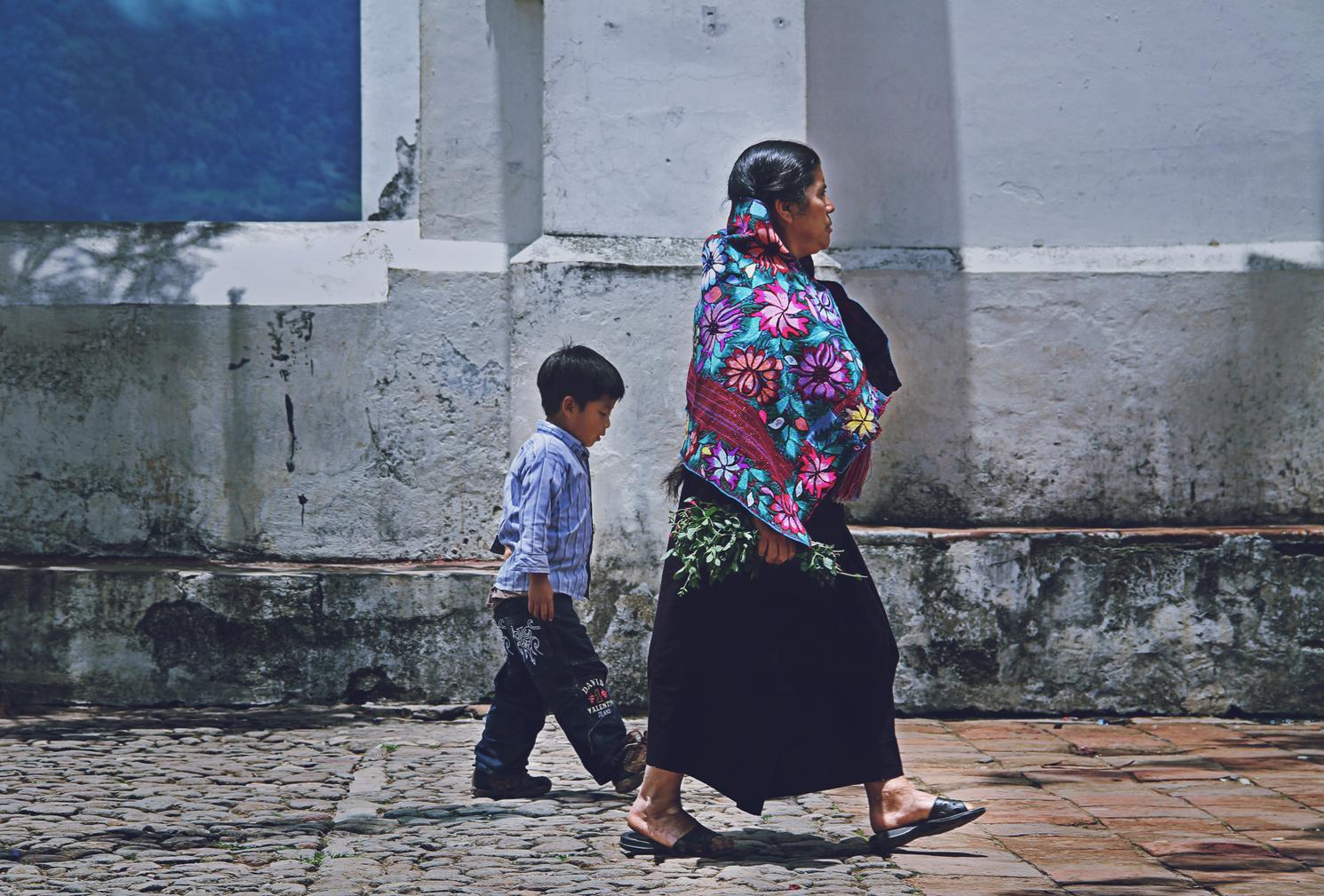 Zinacantán, Chiapas, México, 2013