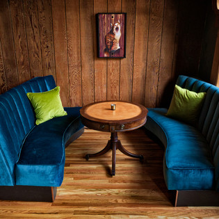 Cozy Booth Seating
