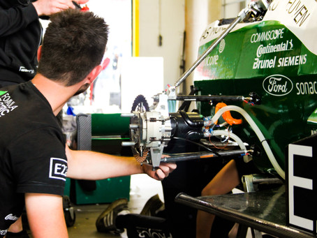 Studenten Formula Electric Belgium bouwen een autonome elektrische racewagen