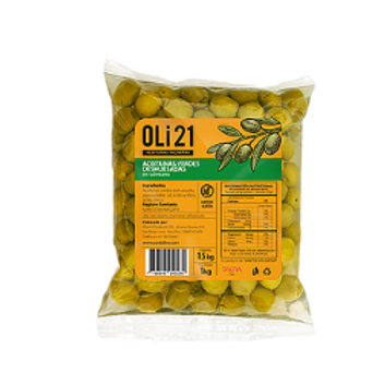Aceitunas verdes deshuesadas 1 Kilo