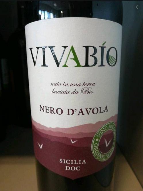 VivaBio Nero Di Avola (vino organico de Sicilia)