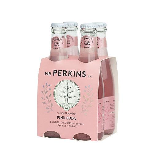 Pack x 4 Mr. Perkins Grapefruit Tonic Water
